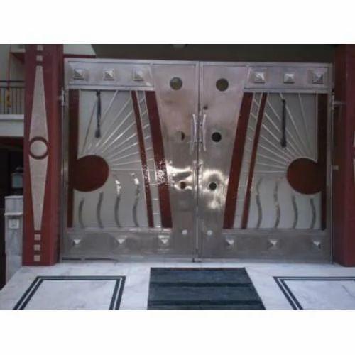 Home Design Gate Ideas: Modern Design Gate, Gate, Grilles, Fences & Railings