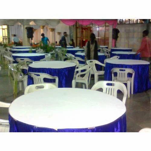 Round Tables Arrangement in Parties  sc 1 st  IndiaMART & Round Tables Arrangement In Parties - G.K.K Tent House Bengaluru ...