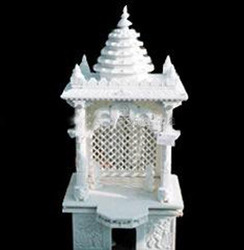 Decorative Marble Carved Temples