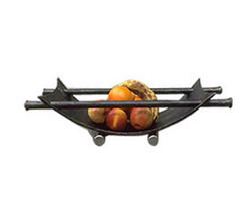 Wrought Iron Fruit Bowl