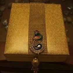 Peacock Motif Gift Box