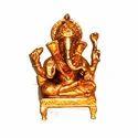 Golden Ganesha Statue
