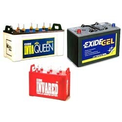 SuKam and Exide Batteries
