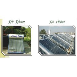 Horizontal Solar Water Heater