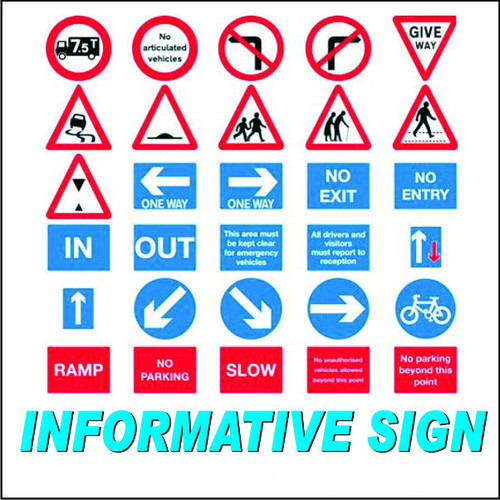 Industrial Signage Informative Safety Signage