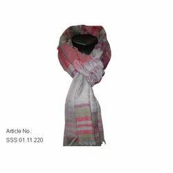 Fine Wool Yarn Dyed Stole