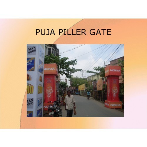 Puja Pillar Gates Ad India Advertising Agency Service Provider