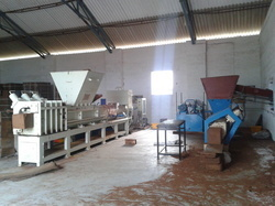 Automatic Coir Pith Machine