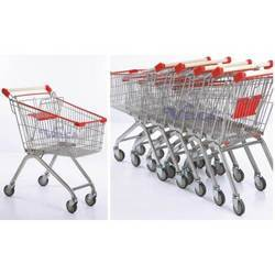 Stainless Steel Shopping Cart