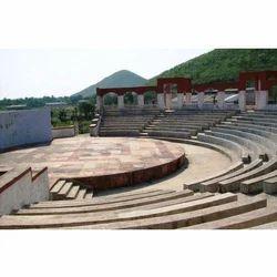 Open Air Auditorium Construction