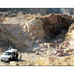 Potash Feldspar Mine in Sikar District
