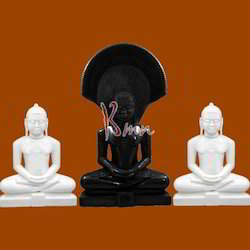 Marble Digamber Jain Statues