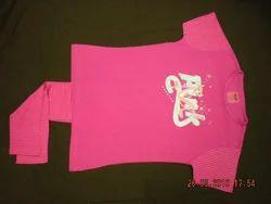 Pink Cotton Kids Fashion Wear