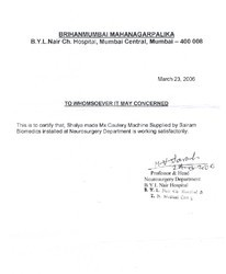Brihanmumbai Mahanagarpalika B. Y. L Nair Ch. Hospital