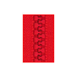 Red Delrin Zippers