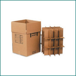 Industrial Corrugated Boxes With Shelves