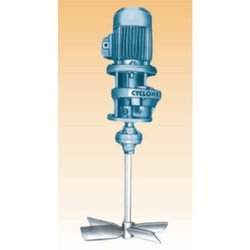 Geared Drive Industrial Fluid Mixers