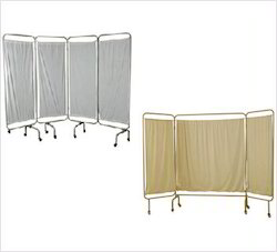 3-Fold Bed Side Screen, Size: 120 Cm L X 165cm