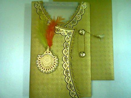 royal indian sherwani wedding cards at rs 72 card wedding cards