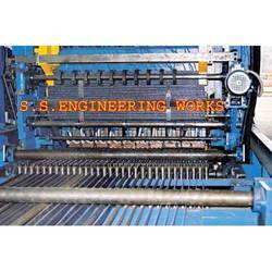 Gritting Weld Mesh Machine