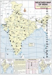 June Weather Map of India