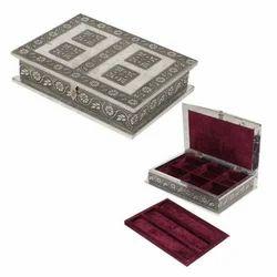 2 Compartment Oxidize Jewellery Box