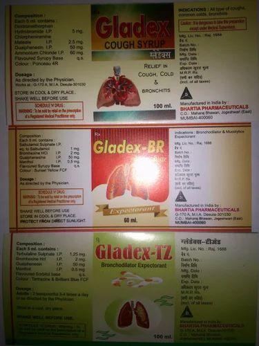 Gladex (Cough Syrup), Pharmaceutical Medicines   Alwar
