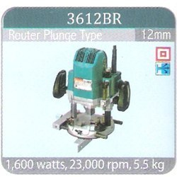 Router Plunge Type 3612BR