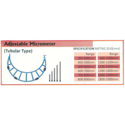 Adjustable Micrometer (Range 1200-1400MM)