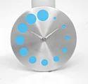 Steel Designer Wall Clock