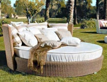 Poolside Bed poolside furniture - poolside bed-nfb-302 service provider from