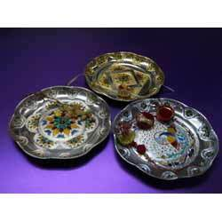 Gold and Silver Thali