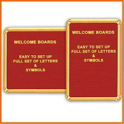 Welcome Board