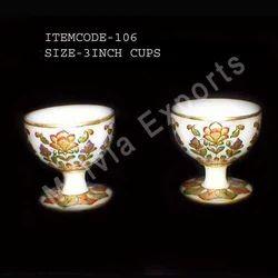 Designer Marble Goblets