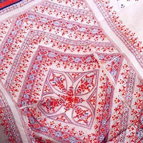 Cotton Kantha Stitch Sarees At Rs 2500 Piece Kantha Sarees Id