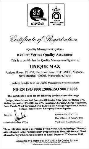 Unique Max - Manufacturer from Mahape, Navi Mumbai, India