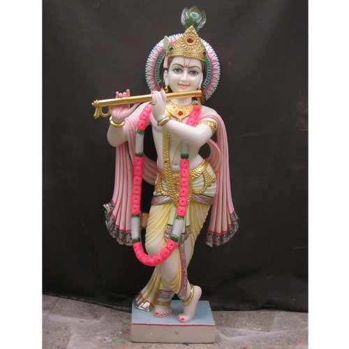 Lord Krishna Marble Statue At Rs 10000 Piece S Marble