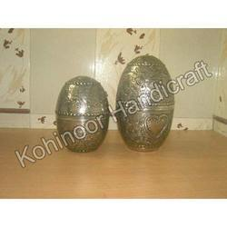 Round Metal Egg
