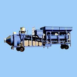 Electric Automatic Mobile Reversible Mixer Plant