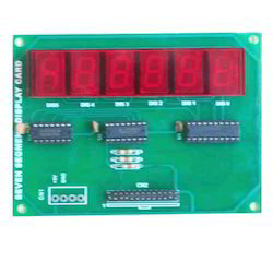 Six Digit Seven Segment Display Module