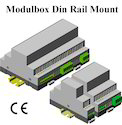Din Rail Module Enclosure 110x74x22.5,70,157