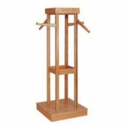 Wooden Apparel Rack