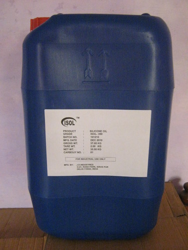 20 Cst Silicone Oil, Packaging Type: Barrel, For Industrial