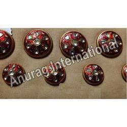 Kundan Sherwani Button Set