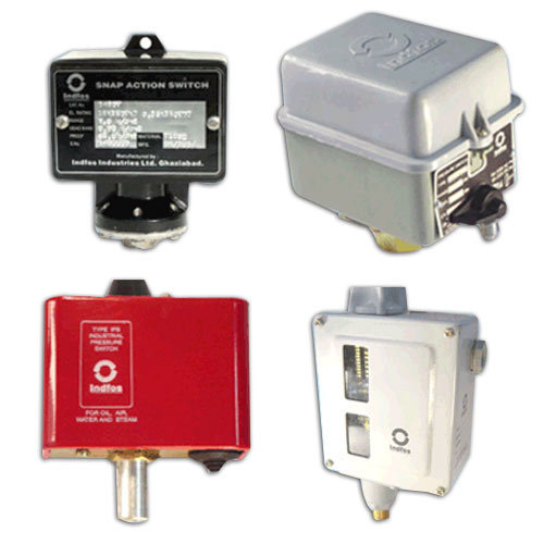 Honeywell Gas Pressure Switch, Contact System Type: SPDT, Electrical Connection: Screw Terminals