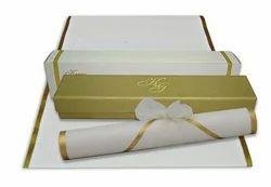Scroll Invitation Card Scroll Invitation Latest Price