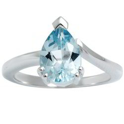 Sterling Silver Blue Topaz Rings