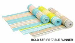 Bold Stripe Table Runner