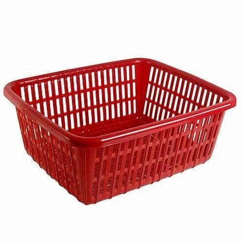 Plastic Square Basket
