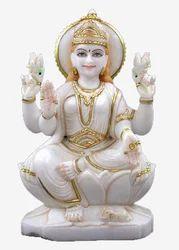 LA-1021 Lakshmi Statue Of Marble